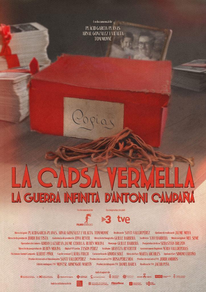 """""""La capsa vermella. La guerra infinita d'Antoni Campañà"""" 1"""